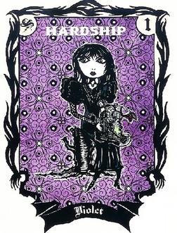 Violet Baudelaire trading card